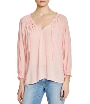 velvet top pink
